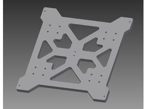 Geeetech prusa I3 Heated Bed Bracket