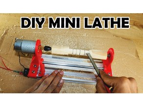 DIY MINI LATHE MACHINE