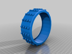 RC Buggy Tire with optional outer sleeve