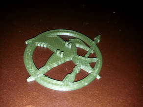 MockingJay Pin thicker clips
