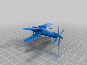 Corsair Dieselpunk X-wing