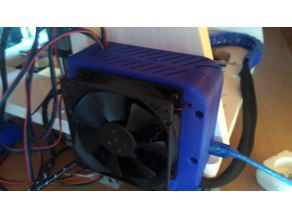 Case for ramps with 92mm fan and for diamond hotend