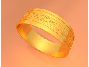Wedding Gold Ring KTWR01