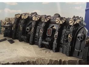 Gothic spaceship wreck A