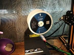 CR 10 filament holder for small coils (like TPU Sainsmart)