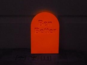 Ben Better tombstone
