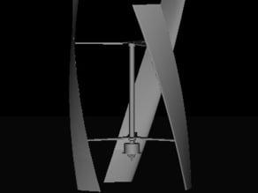 UGE-9M Vertical Axis Wind Turbine