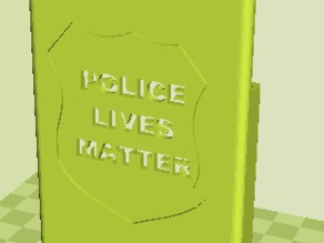Police Lives Matter iPhone Case