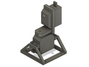 Hobby servo laser turret Cat toy