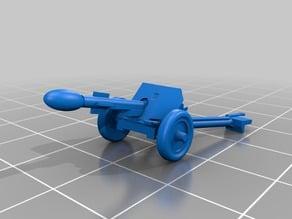 37mm with Stielgrenat anti tank bomb