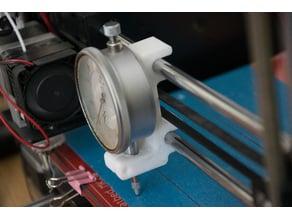 Dial Gauge holder for Prusa CTC