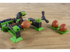 ALLBOT to egg drawing robot transformation parts