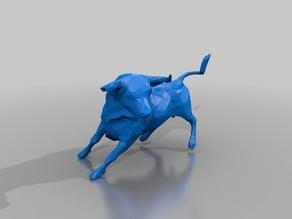 Bull lowpoly 3k