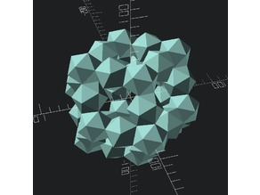 rhombic dodecahedron of ichosahedron