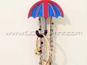 Coat / Jewelry Hanger Organizer Weather Wall Hook – Umbrella