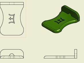 Phone Stand: Engraved Erani Emblem