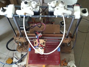 Printrbot LC and LC PLUS  dual j-heads upgrade kit