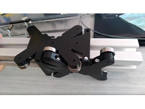 45x45 Aluminium Profile Slider