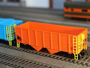 55 Ton HO Scale Hopper Car Mods