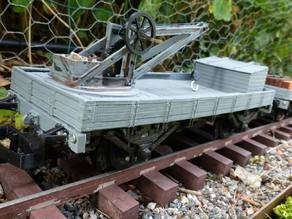 crane wagon scale 1:32 gauge 1