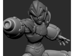 Megaman X Posed Figurine