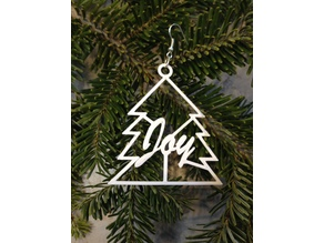 Joy Tree Holiday Earrings