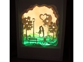 3d picture night light