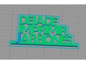 Deja de imprimir Jarrones - Bricogeek
