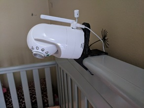 Graco crib camera mount