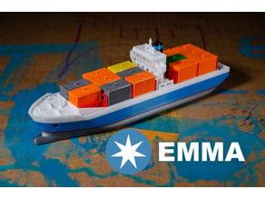EMMA - a Maersk Ship