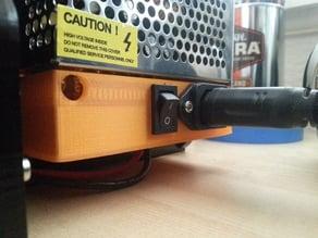 HIC Prusa i3 20A 12V Power Supply Cover