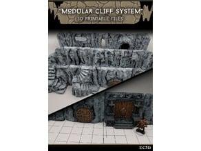 Modular Cliffs - 28mm gaming - Sample Items