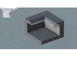 Ender 3 3mm Glass bed corner clip