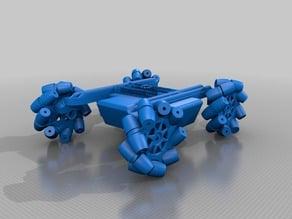 Mecanum wheels for Robyn inmoov
