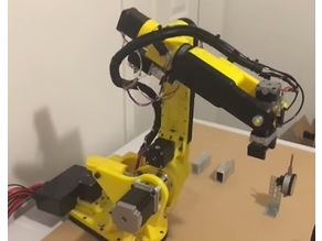 AR2 6 axis robot arm https://github.com/Chris-Annin/AR2