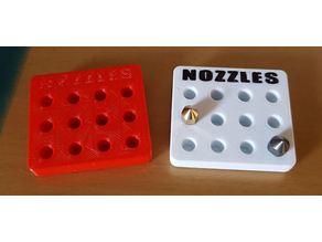 Porte buses MK8 / Nozzles holder