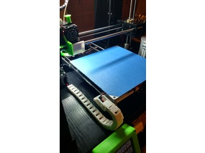 Anet A6 Bed Y-axis Cable Chain (front mount)
