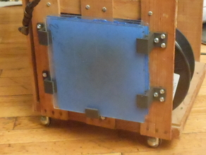 Glass plate holder