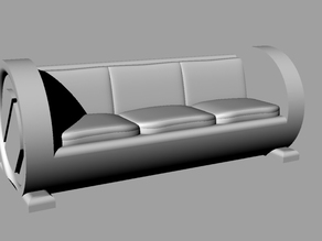 Boring Sci-Fi Couch