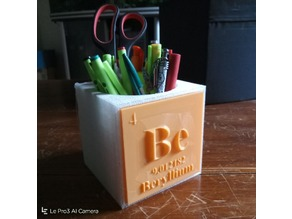 beryllium pen cup