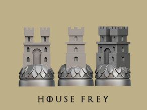 Game of thrones Frey Marker reproduction