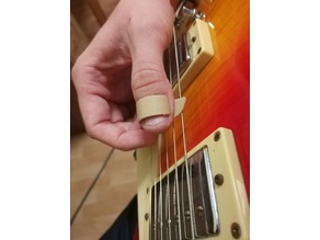 Guitar thumb pick