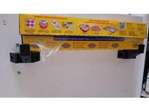 Adjustable ^2 Plastic Wrap Pantry Door Shelf