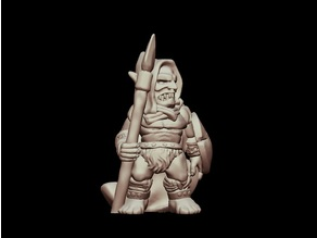 Kyn Finvara Goblin Warrior (28mm/32mm scale)