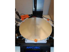 Anycubic Kossel glass bed holder