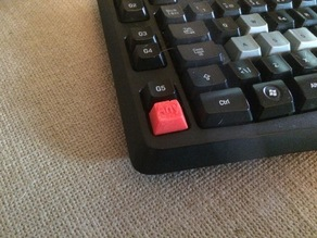 "Keyboard button ""Any key"""