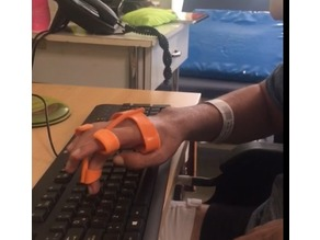 Orthosis for Typing and touchscreen