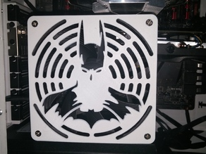 BatFan!!  Batman 120mm Fan Grill!