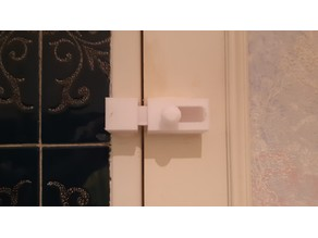 locquet porte / lock door