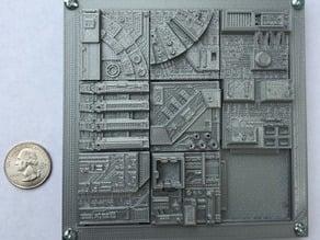 Star Wars Death Star Tile Sliding Puzzle Game